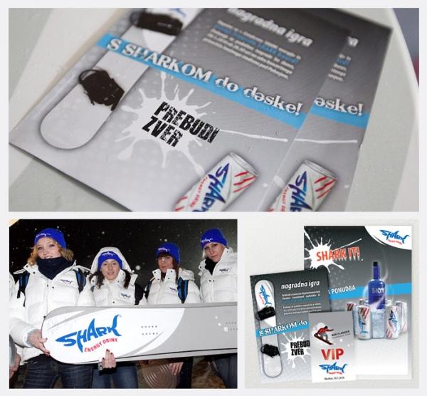 SHARK - Rok Flander snowboard show