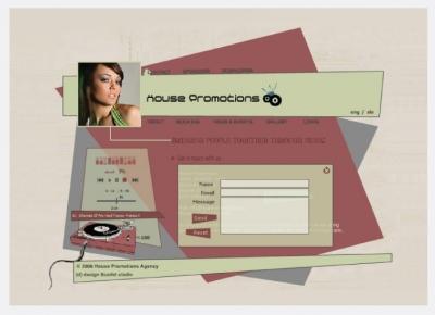 Spletna stran House Promotions