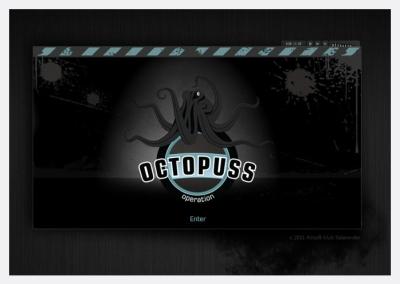 Spletna stran Op. Octopus 8