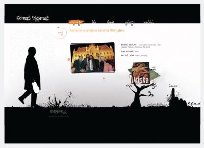 Spletna stran Tomaž kosmač
